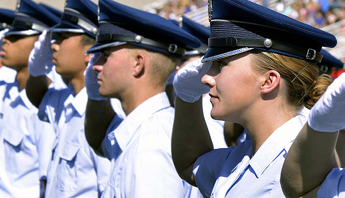 Image of cadets