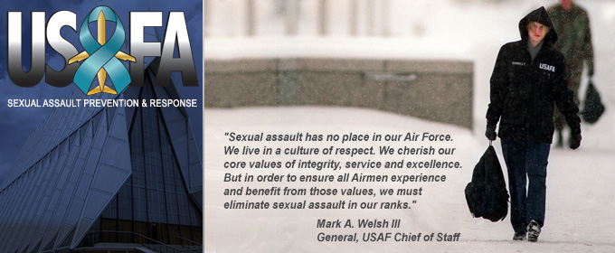 Sexual assault has no place in our Air Force ad