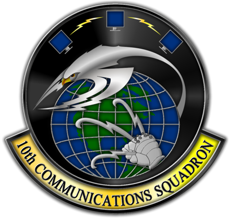 10th Communication Squadron logo
