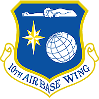 image of the 10th Air Base Wing shield