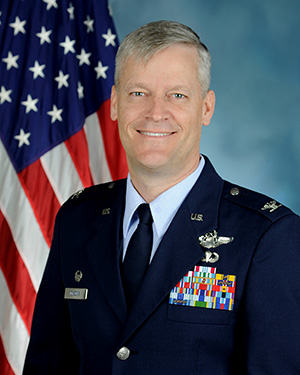 Official photo of Colonel Joel R. DeBoer